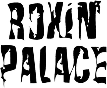 ROXIN' PALACE (Italy) SLEAZE HARD ROCK - logo