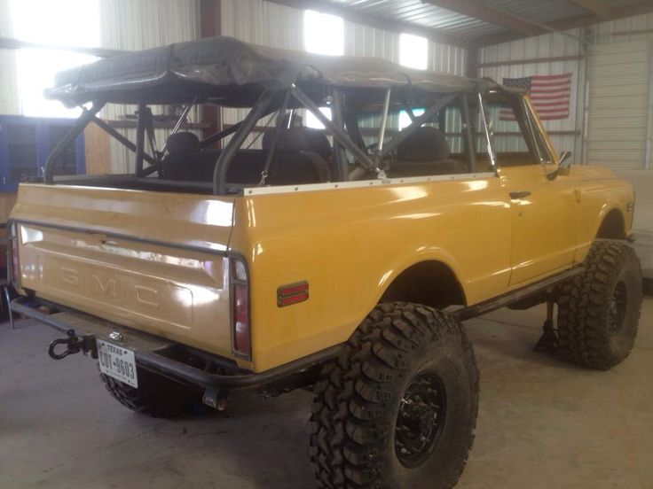 First Gen K5 Blazer with a soft top.