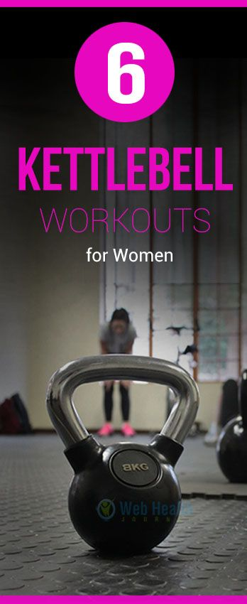 Kettlebell workout is a type of training which is not only designed for men.  #crossfit