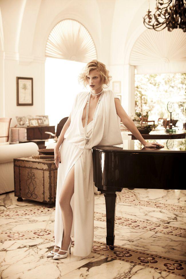 Sophie Holmes by Pasquale Abbattista (Golden Twenties - Elle Germany June 2011) 5