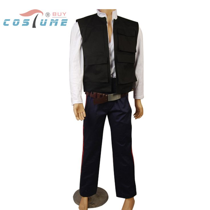 >> Click to Buy << Star Wars ANH A New Hope Han Solo Costume Vest Shirt Pants Outfit Movie Cosplay Costume Halloween Party For Men #Affiliate