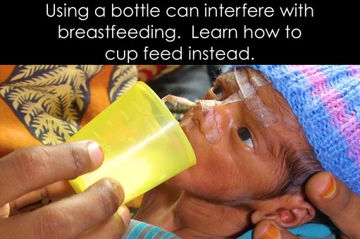 If you're having latching difficulties or your baby is unable to nurse at the breast, you can use cup feeding rather than giving a bottle.  Using a bottle can interfere with breastfeeding.  Read on to learn more…  ColoradoNaturalChildbirth.com    #Breastfeeding #LatchingIssues #CupFeeding #LLL #BradleyMethod