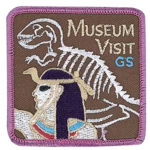MUSEUM VISIT SEW-ON PATCH
