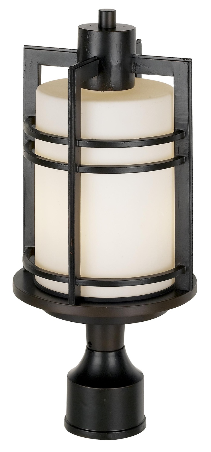 26 best outdoor lighting images on pinterest exterior lighting post mount from lamps plus habitat collection 17 high post mount mozeypictures Images