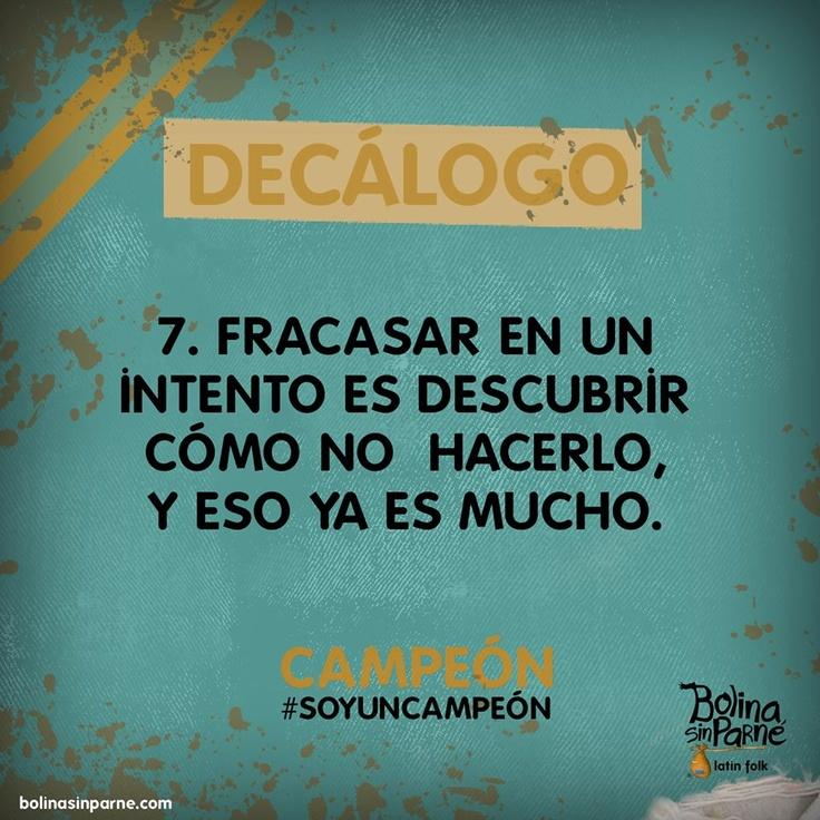 # 7 | Decálogo Campeón
