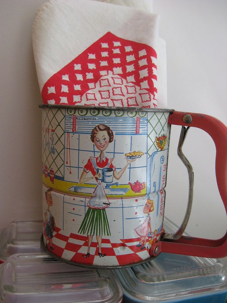 1950s sifter