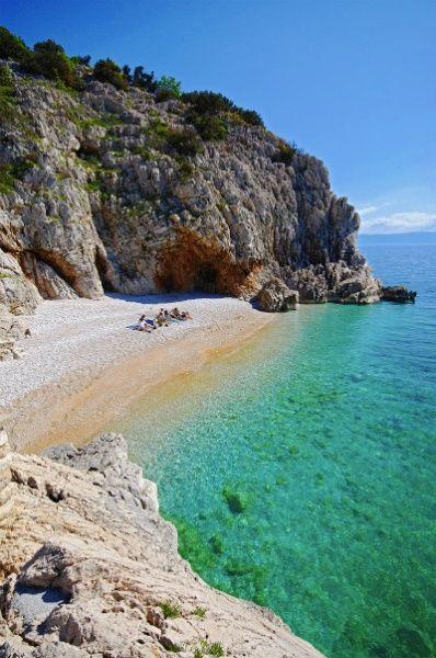 Beach - Brseč, Croatia