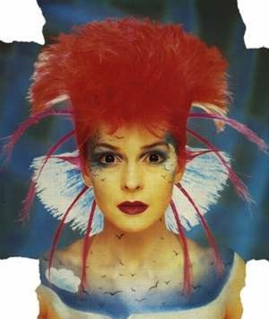 Toyah Wilcox another great female punk/new wave vocalist from the UK who captured my attention in the mid 80's on German music television with her bright colourful hair/make-up and equally bright colourfull siren voice.