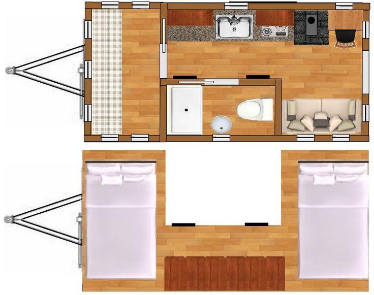 Tiny House Plans Home: 8x16 Lexington Home Plans