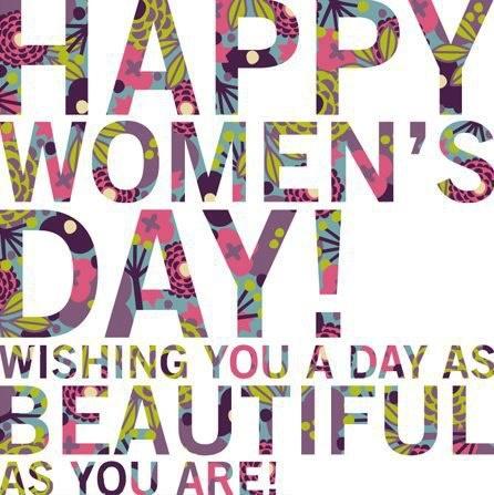 Happy Women's Day! #diadelamujer #womensday