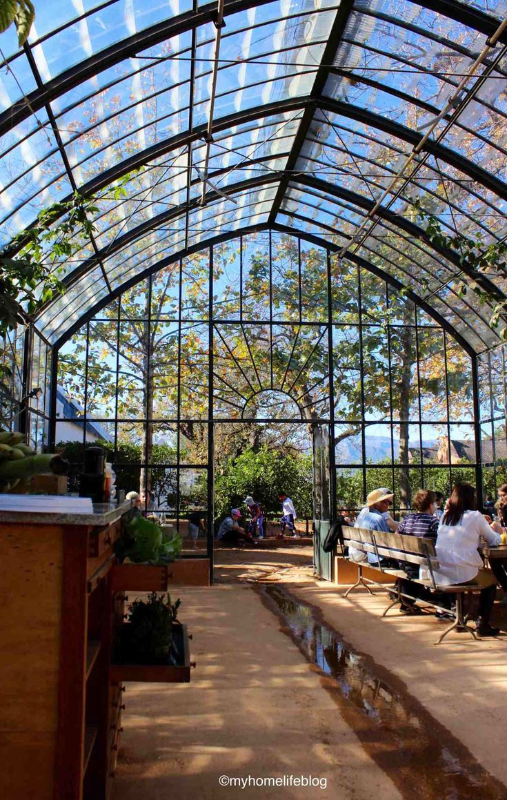 The Greenhouse Restaurant - Babylonstoren
