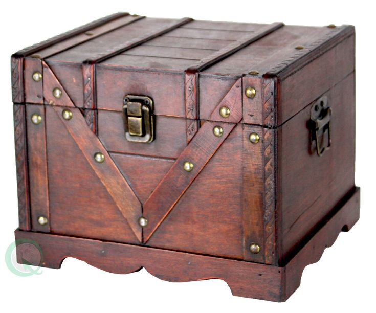 Dimension: Large: X X Small: X X Decorative Trunk That Is Great For Storage  And Decoration Great Tressure Box Great Gift Idea Old ...