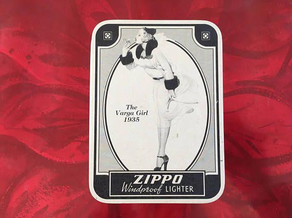 ZIPPO Lighter The Varga Girl 1935