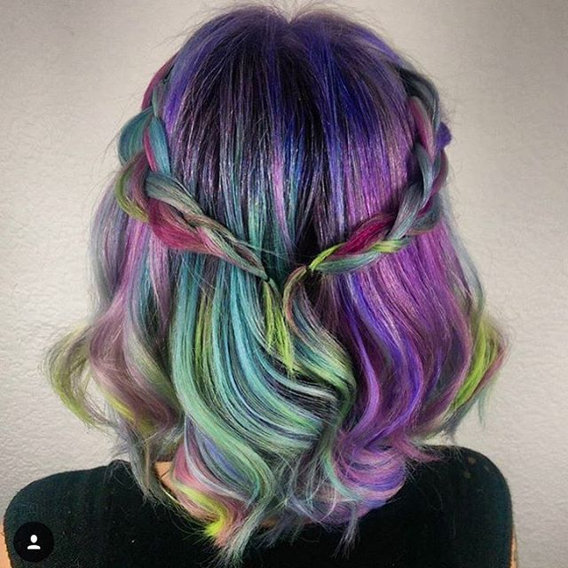 fun colored hair — hairstylesbeauty:   IG: hairbymisskellyo!