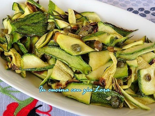 Insalata+di+zucchine+grigliate+al+forno