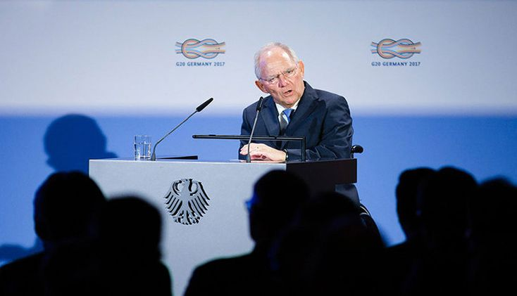 Schaeuble 'confident' there will be successful completion of Greek review