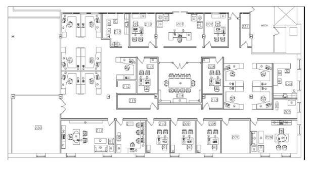 17 best images about hw 6 furniture plan on pinterest for Commercial floor plan designer