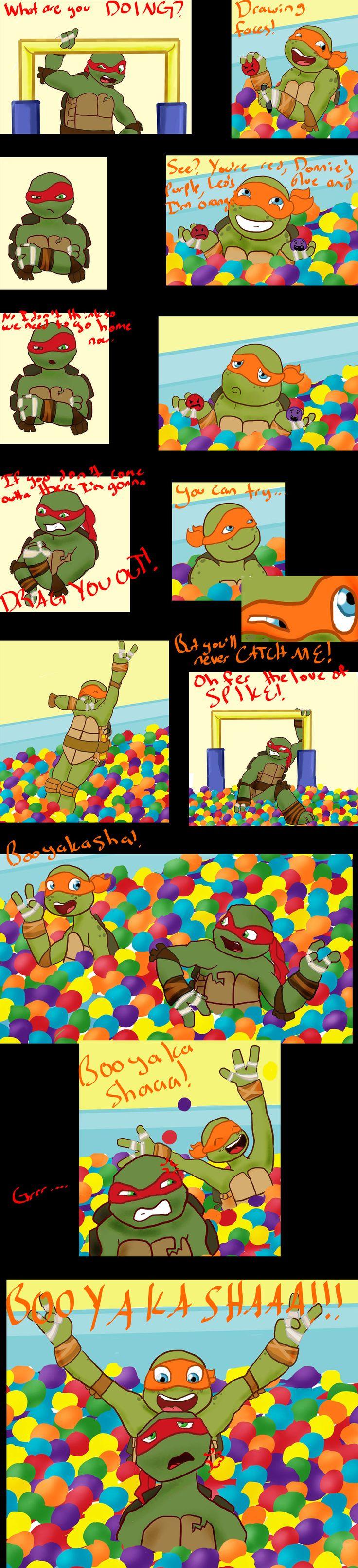 The Big Turtle Theory: Booyakasha In The Ball Pitby *craZkid