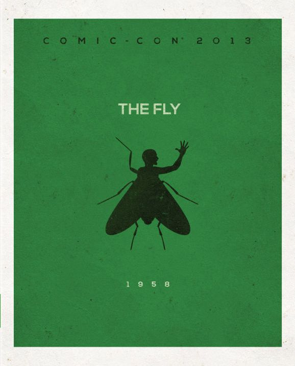 The Fly movie art for 2013 blu ray release