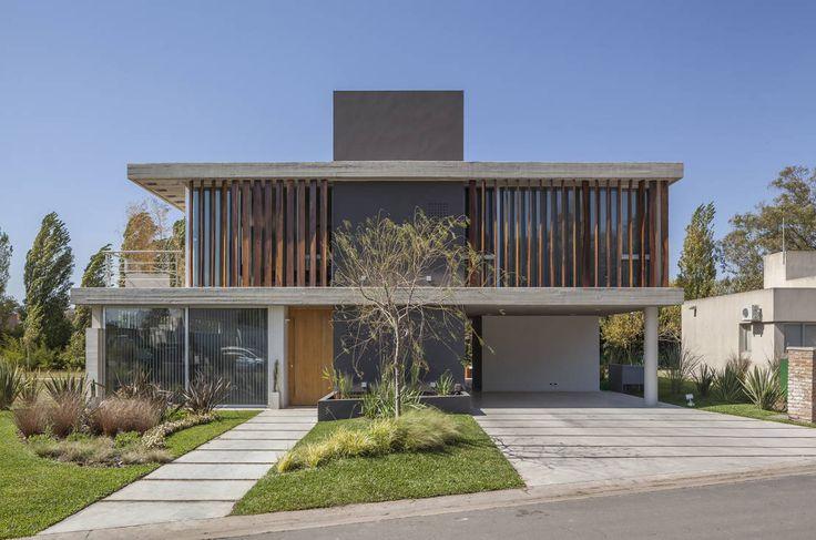 Moderne huizen van ESTUDIO GEYA