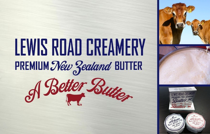 Lewis Road Creamery: Butter