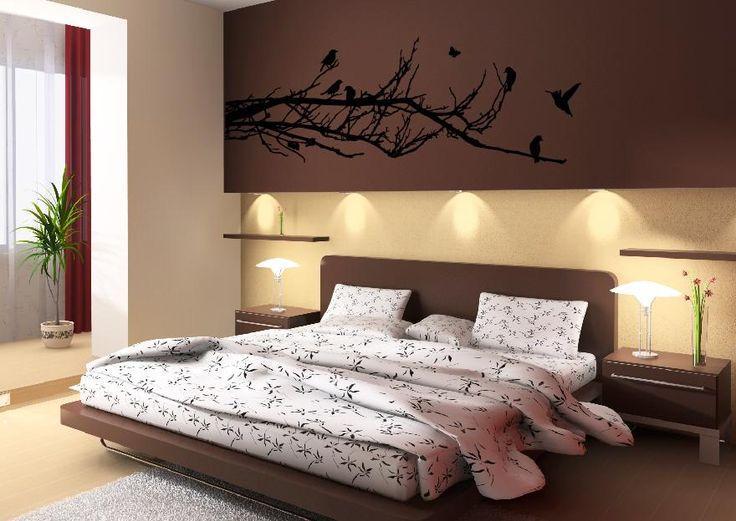 Die besten 25+ Vogel Wandtattoo Ideen auf Pinterest Wandtattoo - wandfarben f amp uuml r schlafzimmer