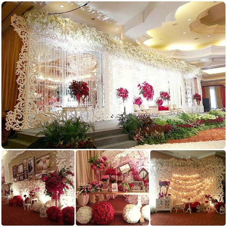 Finally after 8 month,my first wedding design is built,130915. The realisation is so beautiful.. #weddingday #weddingdesign #weddingdecoration #weddinglove #whiteredwedding #weddingphotography #ryureiwedding #happywedding #design #decoration #ineteriordesign #elssydesign  (at Ritz Carlton Jakarta, Kuningan)