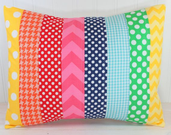 Hey, I found this really awesome Etsy listing at http://www.etsy.com/listing/165543268/rainbow-pillow-cover-rainbow-nursery