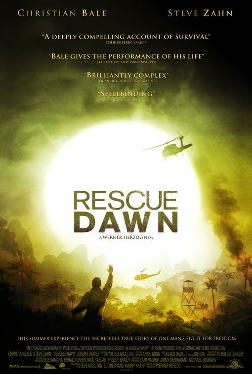 Rescue Dawn - amazing movie!!! absolutely inspiring