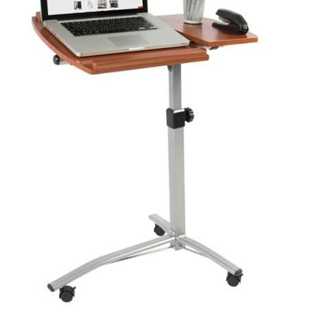 Angle & Height Adjustable Rolling Laptop Desk Cart Over Bed Hospital Table Stand - Walmart.com