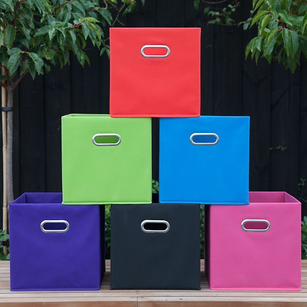 Fabric Cube Storage Boxes | Play Room Ideas | Pinterest | Cube Storage,  Storage Boxes And Storage