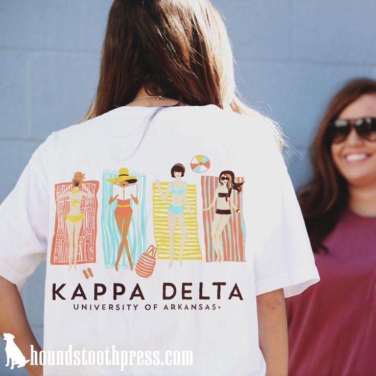 Kappa Delta Shirt | #LoveTheLab houndstoothpress.com | Fraternity and Sorority…