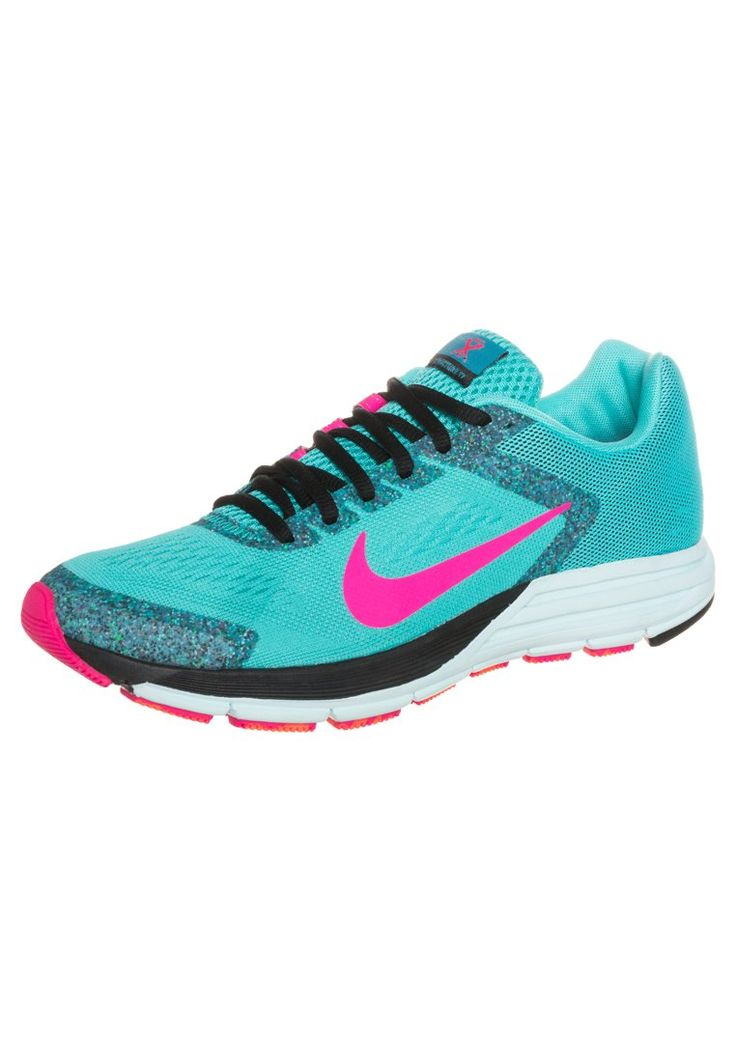 Nike Performance - ZOOM STRUCTURE+ 17 - Laufschuh Stabilit�t - hyper  jade/hyper pink/