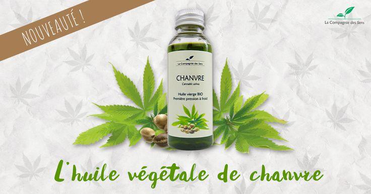 Nouvelle arrivée dans la famille des huiles végétales : le chanvre ! Parfaite pour les cheveux secs, les rides et le cholestérol :) #HV #aromatherapie #chanvre