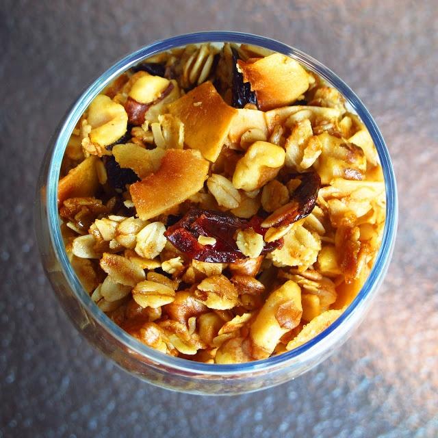 Olive Oil and Maple Granola | Eatomaniac :)