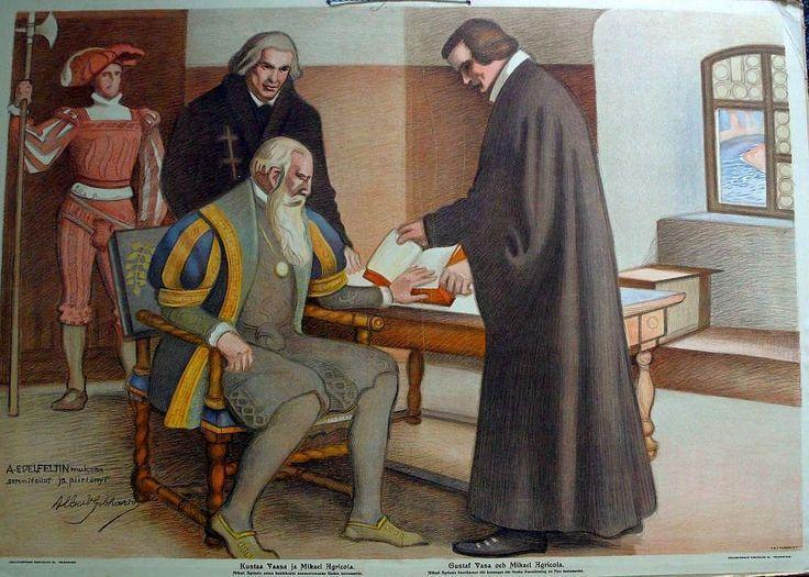 Ruotsalaisten ja venäläisten välillä oli jatkuvia rajariitoja ja rauhattomuuksia.V.1557 kuningas Kustaa Vaasa lähetti Moskovaan rauhanvaltuuskunnan, johon Mikael Agricola osallistui Suomen edustajana.Agricola tunsi Karjalan raja-alueen,oli kansainvälisesti sivistynyt,kielitaitoinen ja kokenut hallintomies.Näitä taitoja tarvitt.diplomaattis.neuvotteluissa sekä rauhansopimuksen laadinnassa.Piispan läsnäolo antoi myös arvovaltaa valtuuskunnalle venäläisten silmissä.
