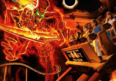 My favorite ride...The Mummy @Universal Studios Orlando ...