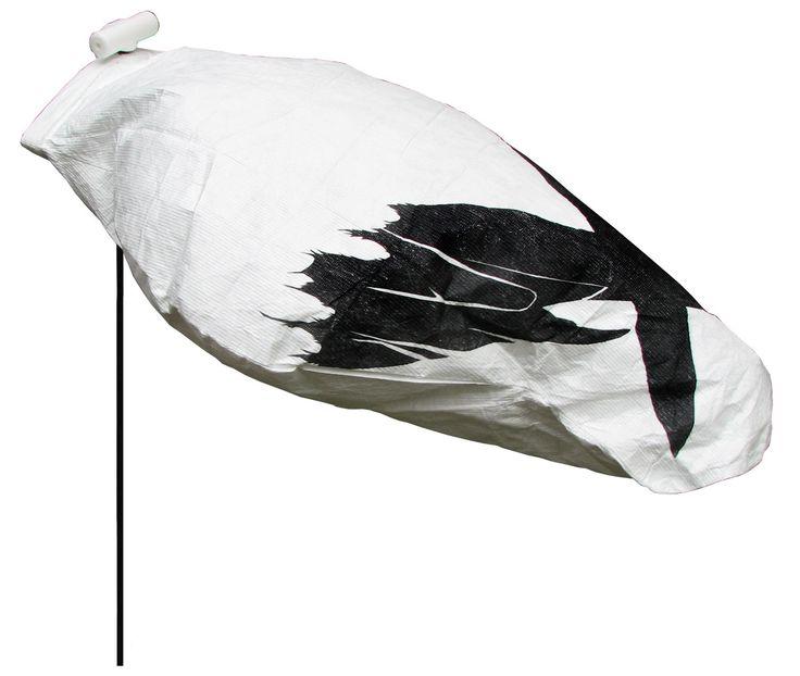 White Rock Decoys Headless Snow Goose Decoys - 12 Pack
