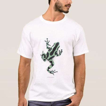 Black and Green Poison Dart Frog 2 T-Shirt - click to get yours right now!