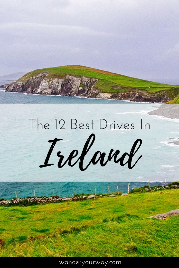 Ireland has so many scenic drives that it can be confusing as to which ones you should actually drive. So I've come up with a list of the best drives in Ireland. I promise you won't be disappointed. Click through to find out more.
