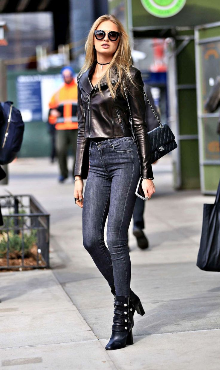 models-fashion111:  Romee Strijd out and about in New York City, 24th March 2016.