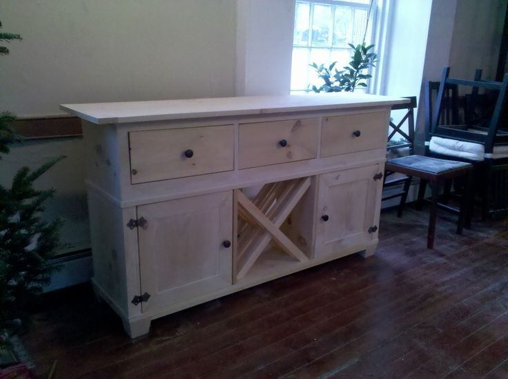 1000+ Images About Ideas To Build Custom Buffet/side Table