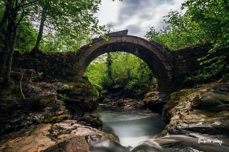 Köprüleri, çeşme ve evleriyle tarih kokan Kestane Mahallesi… Ordu Fotoğraflar: Necmettin Güney