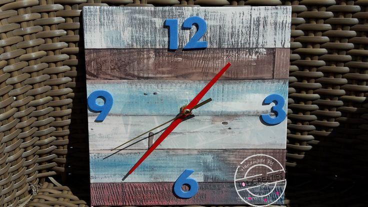 Een oude klok pimpen of heel eenvoudig zelf maken? Kijk op www.101creaties.nl