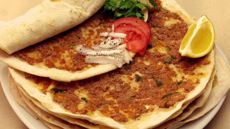 Turkish Pizza Recipe | Ground Beef Bread