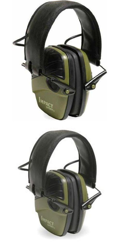 Hearing Protection 73942: Howard Leight R-01526 Earmuffs, Impact Sport Adjustable Electronic Ear Muffs -> BUY IT NOW ONLY: $39.65 on eBay!