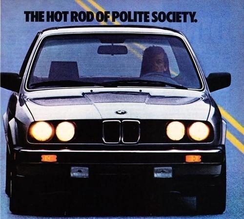 1985 BMW 325E Sedan