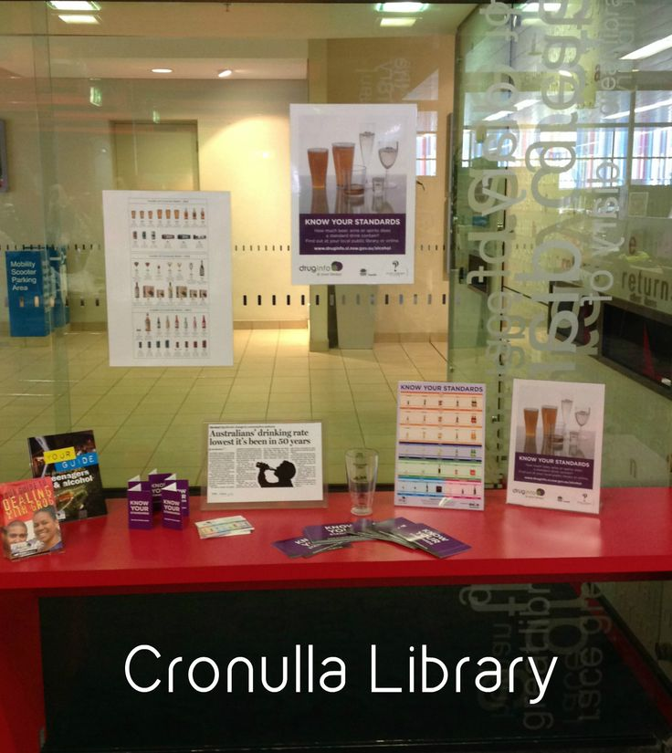 Library display for Know Your Standards Week at Cronulla Library #knowyourstandards