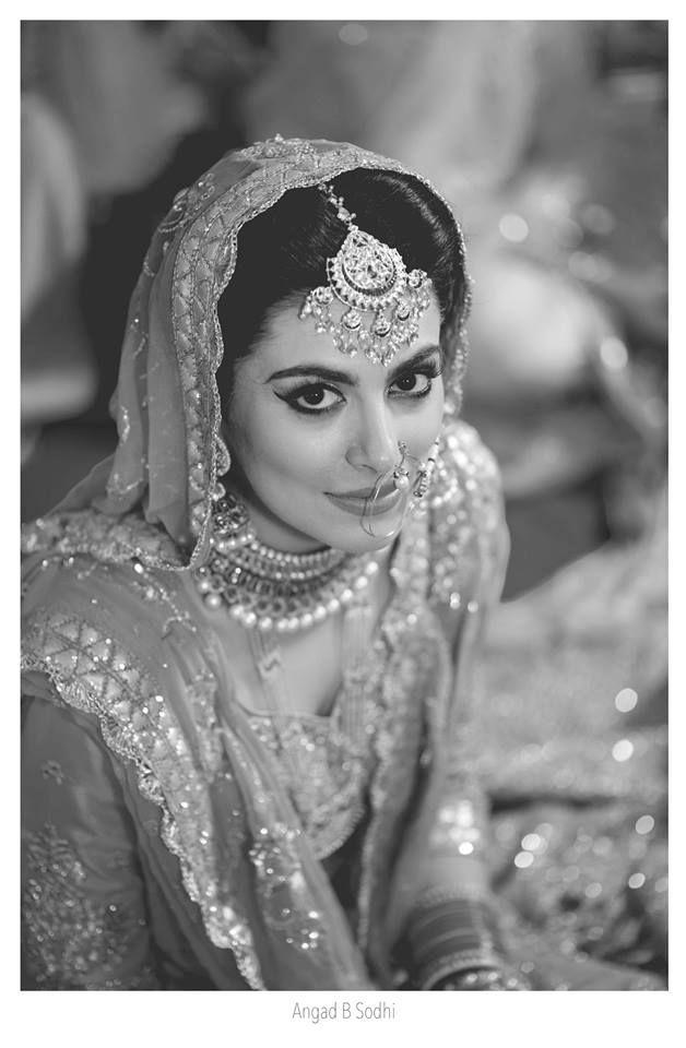 Beautiful bride   Photo Credits : Angad B Sodhi