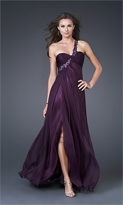 Column Beaded On Shoulder Strap Chiffon Evening Dresses EDM455  $189.00 (USD)   www.balllily.com offer Wedding Dresses, Bridesmaid Dresses, Evening Dresses, Prom Dresses, FlowerGirl Dresses and Mother Of The Bridal Dresses. www.balllily.com